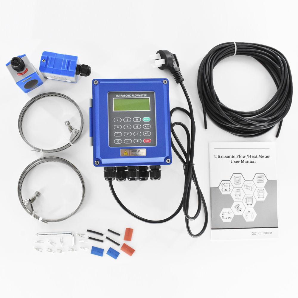 Ultraheli vedeliku vooluhulgamõõtur RS485 Modbus Uus TUF-2000B - Mõõtevahendid - Foto 6