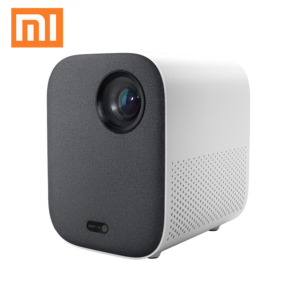 Xiaomi Projector 1080P Screenless TV DLP Portable 1920*1080 Support 4K Video 3D Proyector LED Beamer Full HD for Home Cinema