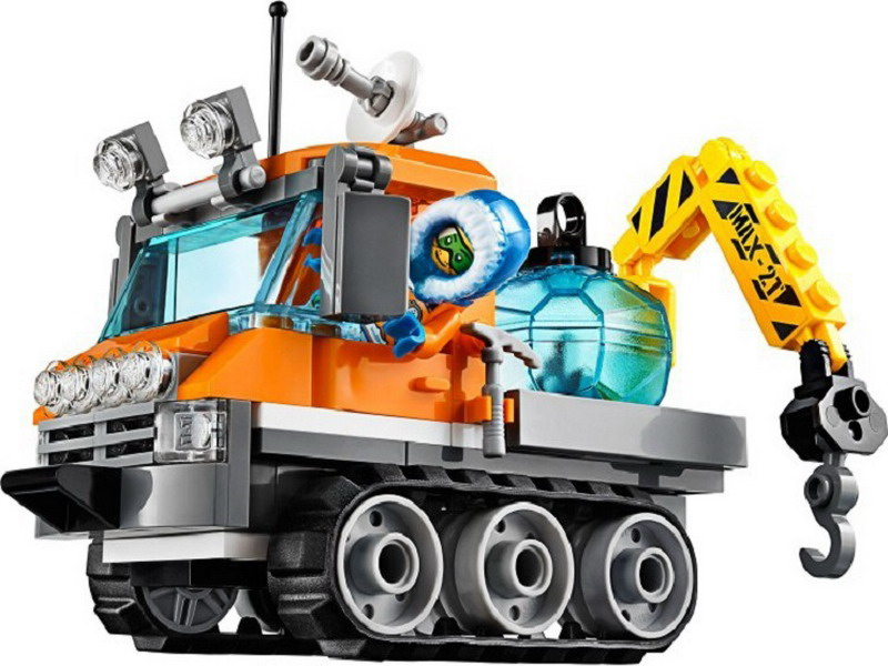 10438 BELA City Polar Adventure Arctic Ice Crawler Model Building Blocks Enlighten DIY Figure Toys For Children Compatible Legoe 10639 bela city explorers volcano crawler model building blocks classic enlighten diy figure toys for children compatible legoe