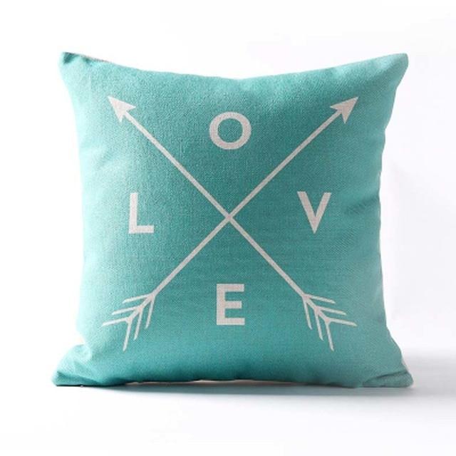 Nordic Geometric Decorative Pillowcase Size: 45CM WT0042 Color: 12
