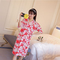 sakura Japanese kimono nightgown Pajamas siamese summer cute girl Japanese short skirt suit home furnishing bathrobe