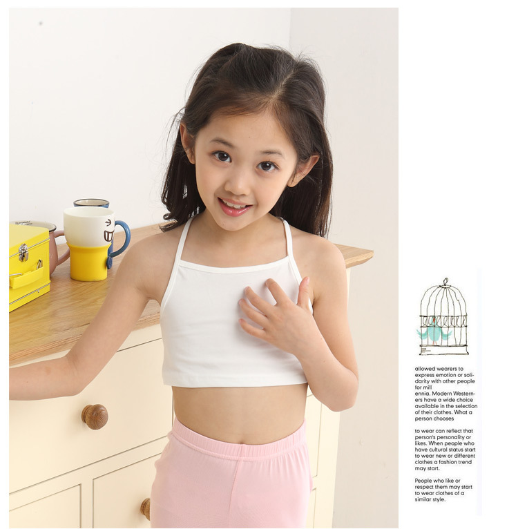 50b74e94cd472 10 PCS Girls Small Vests Developing Girl s Bra Cotton Lycra Underwear For Students  Girls Preteen Underwear Teen Bra-in Bras from Mother   Kids on ...