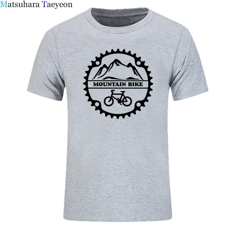 2018 New Men T-shirt Summer Cool Tee Shirt Mountain biker cycle cycles T Shirt Cotton O-neck tshirt casual clothing