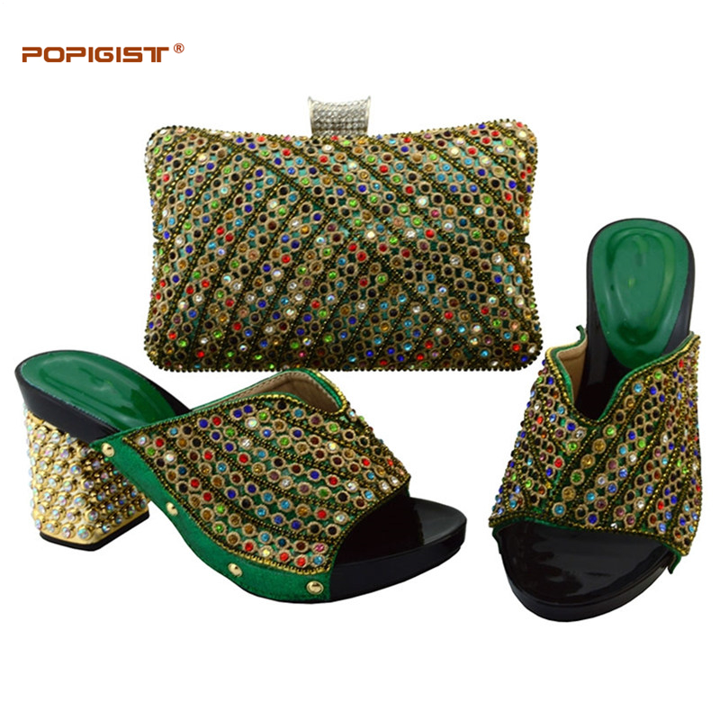 dark Assorti purple red Africains Blue Africaine Black Ensemble Sac Chaussures Et Correspondant Diamant Avec gold Noir Lady royal Green Chaussure Dame Italie XqgwUaHFX