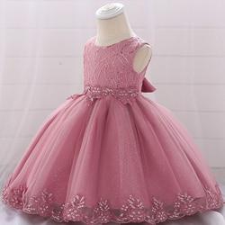 Vestidos de aniversário para meninas de 1 ano, roupas para bebês, vestidos de festa infantis, princesa, bebê, menina, floral, roupas de natal