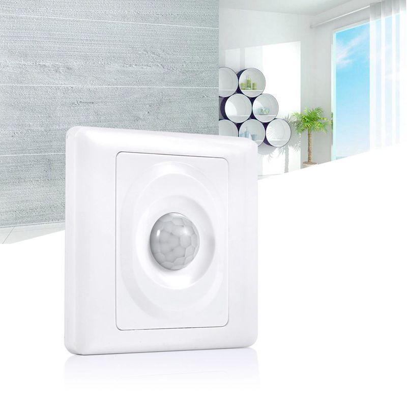 Automatic IR Infrared Motion Sensor Energy Saving Light Control Switch For LED wireless sensor led infrared motion detector light energy saving lamp