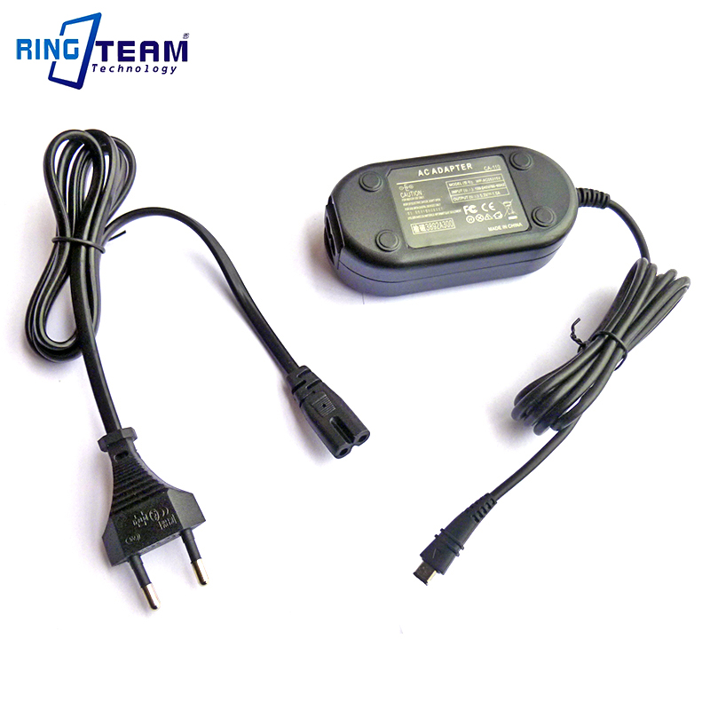 10Set/Lot AC Power Adapter Charger CA-110 <font><b>CA110</b></font> for Canon Camcorder LEGRIA HF R28 R27 R26 R206 R205 R46 R48 R406 R56 R506 mini X image
