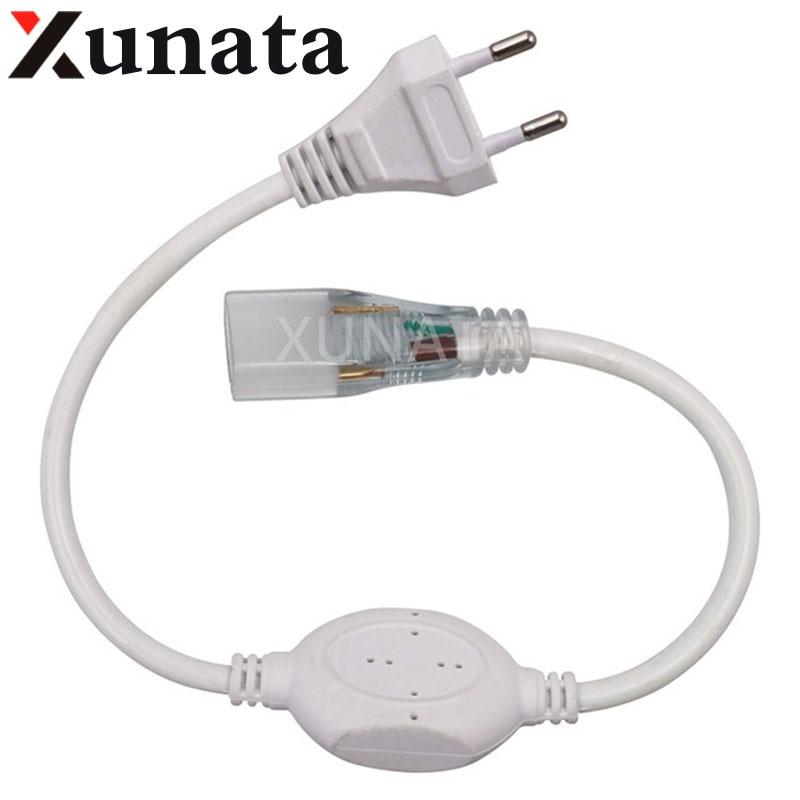 220V 4mm/6mm/12mm PCB 6A EU Adapter Power Plug Waterproof Led Driver For 220V Led Strip Dropshopping