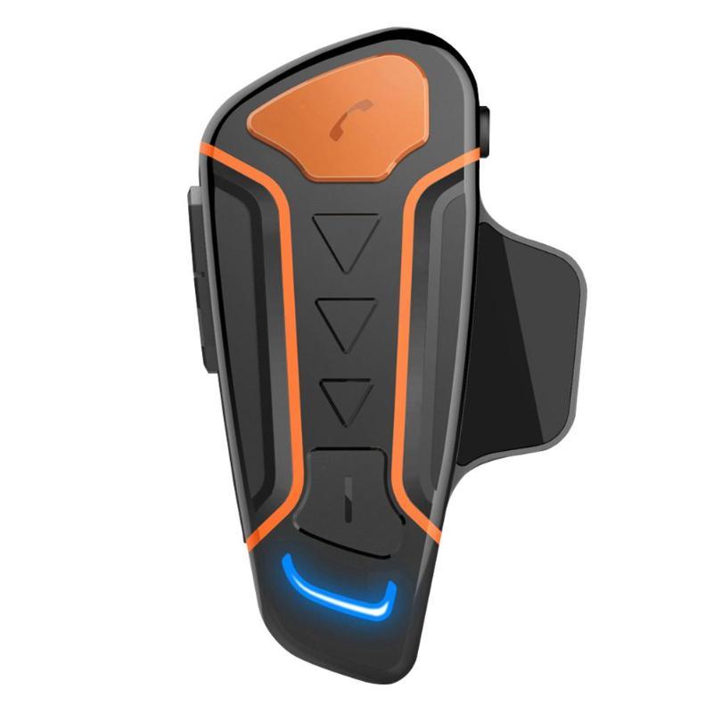 WT003 1000m Bluetooth Motorcycle Helmet Headset IPX5 Wireless Intercom