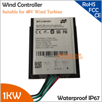 1000W 48V Wind Generator Charge Controller Wind Turbine Charge Controller IP67 Waterproof CE ROHS FCC Arrpoved
