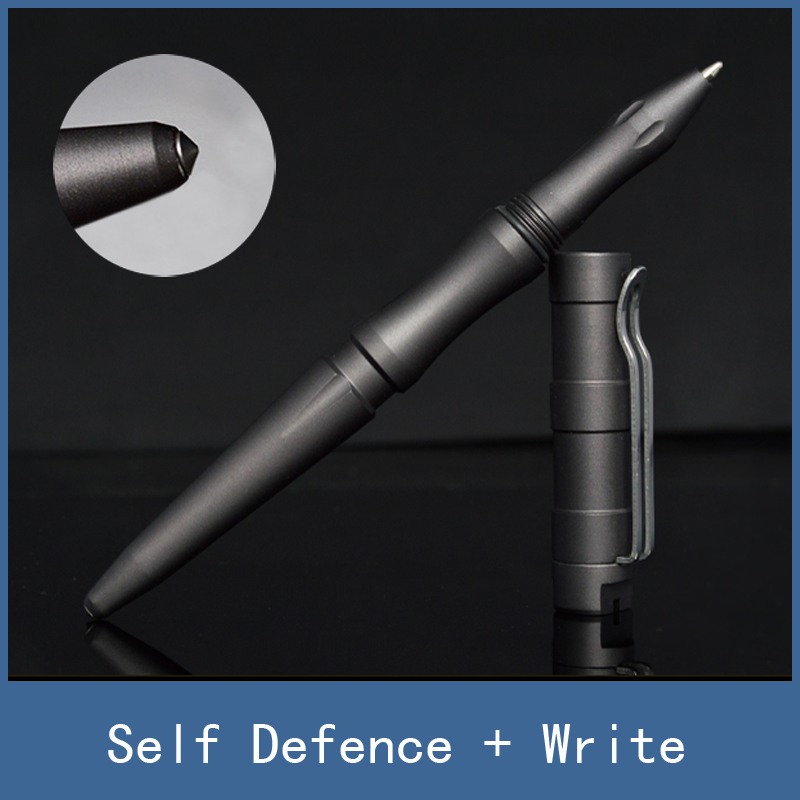 perfect bodyguard tool for emergency self-defense tactical pencil pen with excellent anti-skid ability tactical pencil pen anti skid hard anodic oxidation 3 tactical pen self defense tool emergency tactical pen aviation aluminum tools free shipping
