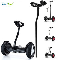 2016 Newest 2 Wheel Hoverboard Skateboard 10 Inch Smart Self Balancing Wheel Electric Scooter With Mobile