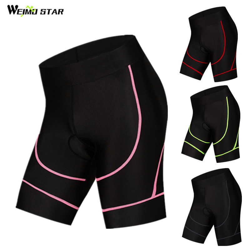 Weimostar Women's Cycling Shorts pro team Sport mtb Bike Shorts 4D Gel Padde Bicycle Shorts Tight Riding Short bermuda ciclismo
