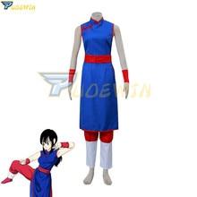 Anime Dragon Ball Chichi Cosplay Costume Custom Made Any Size