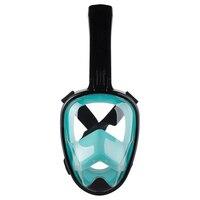 Diving Mask Dry snorkeling equipment Snorkel Mask Adult Anti fog swimming goggles full face snorkel