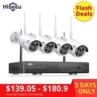 Hiseeu 8CH Wireless CCTV System 1080P 1TB HDD 2MP NVR IP IR CUT outdoor CCTV Camera IP Security System Video Surveillance Kit