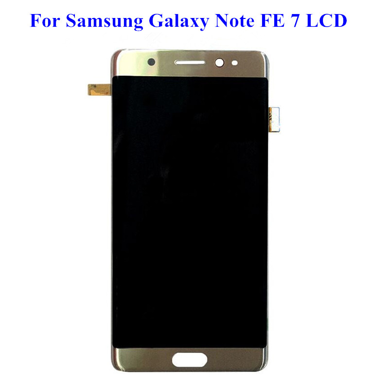 For Samsung Galaxy Note 7 N930 N930F N930S LCD Display touch screen digitizer with frame Assembly  For Samsung Note 7 LCD