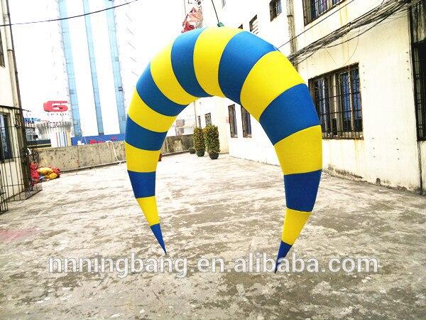 Frete grátis 1.5 m alta inflável bola para a decoração do festival da lua - 3