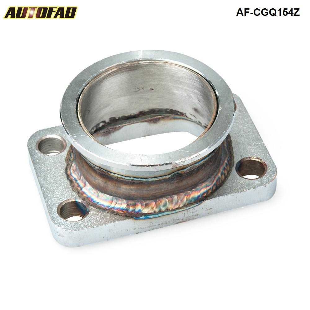 4 to 2.5 V-Band Flange Adapter for Turbo Elbow Downpipe Manifold