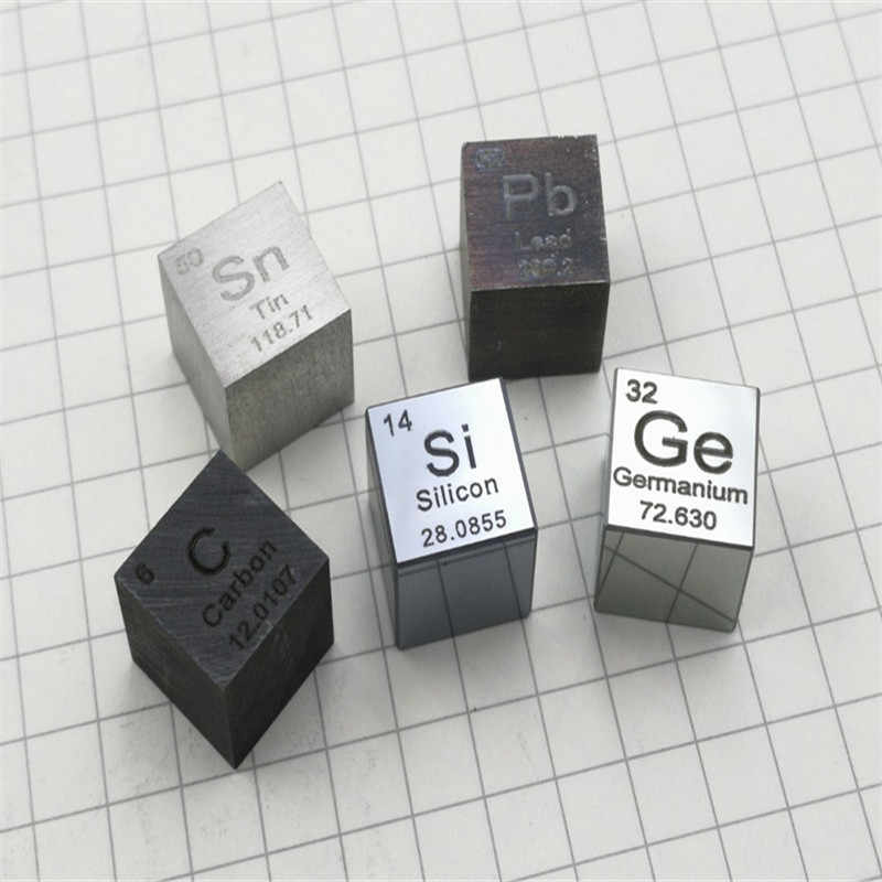 Metals and elements Periodic table cubes Side length 10mm W≥99.95% High density Elemental collectionC Al Ni Ti Mo Cu Fe Sn Cr B
