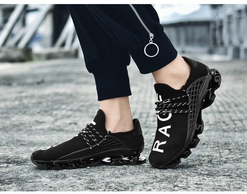 18 New Breathable QIYHONG Men Sneakers Unisex Couple Shoes Basket Femme Hard-Wearing Tenis Feminino Male Footwear Plus Size 14