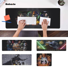 Babaite  Star Wars Office Mice Gamer Soft Mouse Pad Speed/Control Version Large Gaming Mouse Pad evans rf6gm 6 mountable speed pad