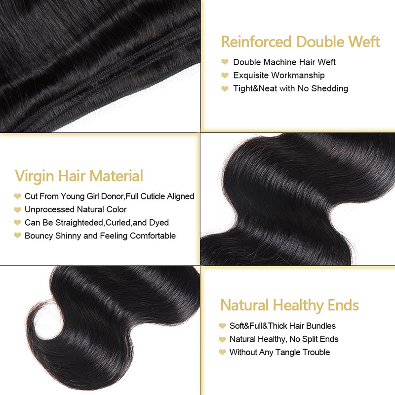 "Malaysian Virgin Hair Bundles Unprocessed Malaysian Body Wave Bundles 1/3/4 Bundles Deals 8-28"" Funmi Human Hair Free Shipping"