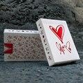 Bicicleta Amor Me Cubierta Naipes Magic Card Poker Theory11 Edición Truco de Magia prop Regalo de San Valentín Para la Novia 81243