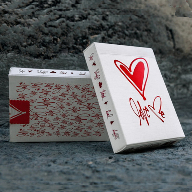 Bicycle Love Me Deck Playing Cards Theory11 Edition Poker Magic Card Valentine's Day Gift For Girlfriend Magic Trick prop 81243