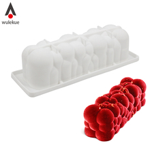 Wulekue Silicone Molds Cake Decorating 3d Bubble STAMPO ATOMIC Mold for Baking Ice cream Chocolate Mousse Desserts Mould Tools atomic mold atomic mold hybrid slow flood lp