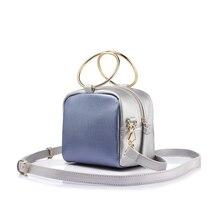 Malá kabelka & kovové kruhy 4farby