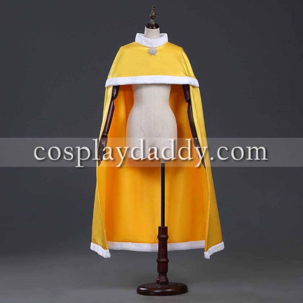 nouvelles promotions marques reconnues super promotions La Belle Et La Bête Cosplay Belle Jaune CAPE Cosplay Costume