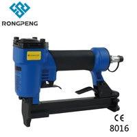 Rongpeng 8016 Möbel Arbeits industriellen Krone Hefter  Pnuematic Polster Nagler  80 serie 21Ga 6 16mm Air Hefter Nagler|crown stapler|upholstery staplerair stapler -