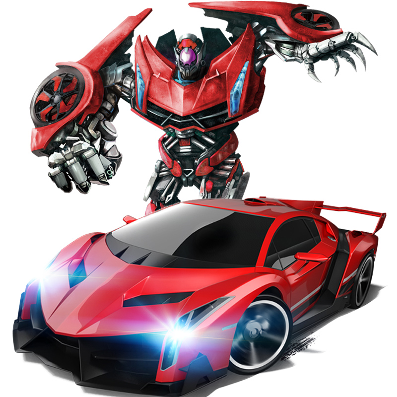 2 4G remote control robot JiaQi TT663 Hypervariable deformation KingKong Drift Ares King Kong RC Robotic
