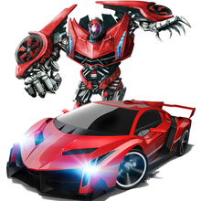 2.4G remote control robot JiaQi TT663 Hypervariable deformation KingKong Drift Ares King Kong RC Robotic Toy SuperPower