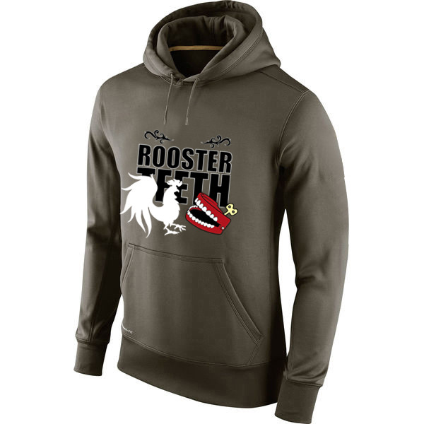 38b81d1eb9ad Hanmeinen Men s Rooster Teeth Salute To Service 100% Polyester Sweatshirts  Custom Any Image   Logo-in Men s Costumes from Novelty   Special Use on ...