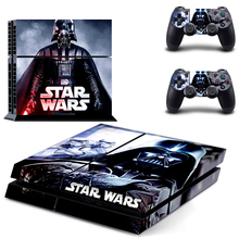 Star wars Decalcomania Del Vinile Della Pelle Per Sony playstation 4 controllori Console + 2 Adesivi Per PS4