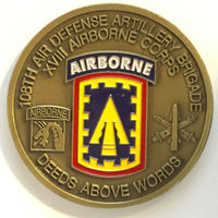 low price custom military Coin new  Airborne Corps Challenge Coin hot sales custom military medal cins   FH810167