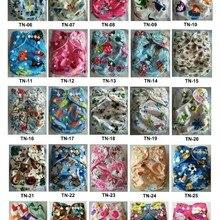 Распечатанные детские тканевые подгузники многоразовые водонепроницаемые подгузник с карманом с эластичной резинкой на талии подгузники с микрофиброй вставки 60 комплектов