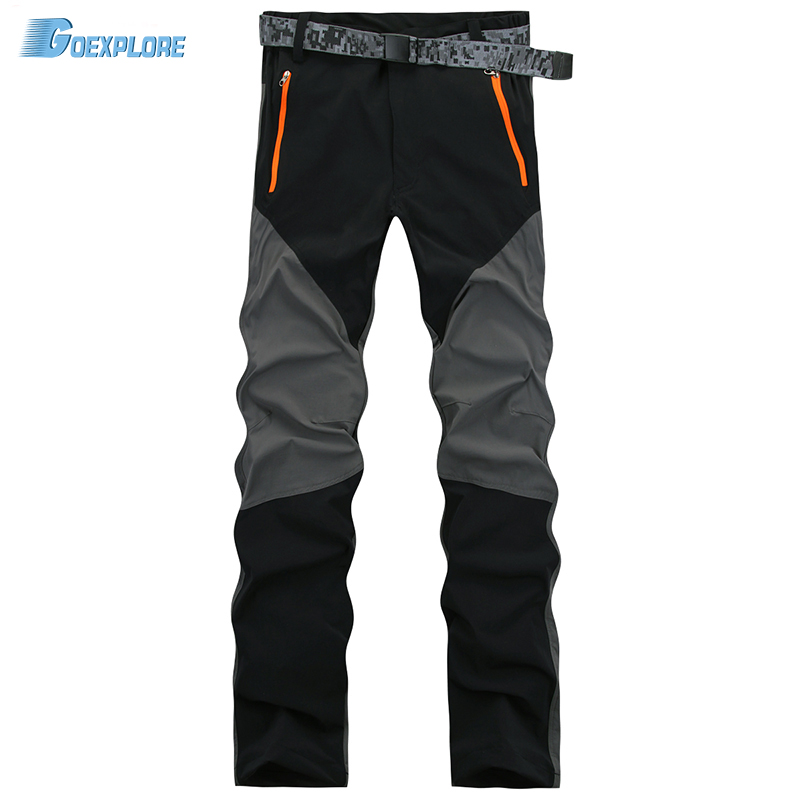 Dropshipping new male light quick drying pants cycling for Lightweight fishing pants