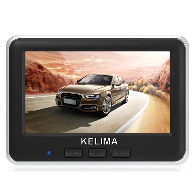 Kelima 006 Беспроводной заднего вида Камера Парковка Резервное копирование Мониторы Системы + Беспроводной 4.3 дюймов Цвет ЖК-дисплей Экран Дисплей