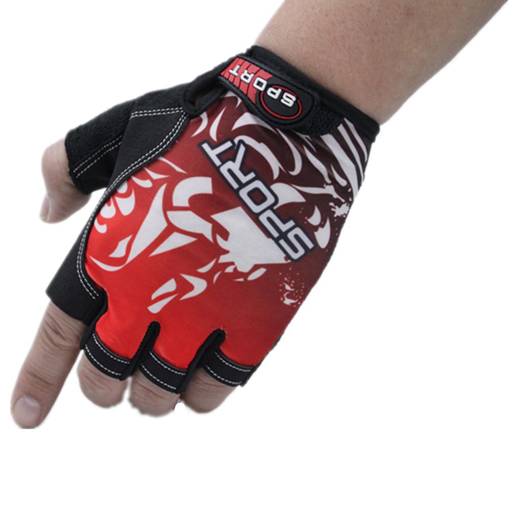 Bicycle Cycling Gloves Non-Slip Breathable Ultrathin Unisex Half Finger Gloves Mitts Outdoor Fishing Climbing Guantes Ciclismo
