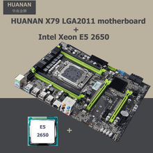 New arrival version 2.49 HUANAN X79 motherboard CPU combos X79 motherboard with CPU Xeon E5 2650 4 channel RAM