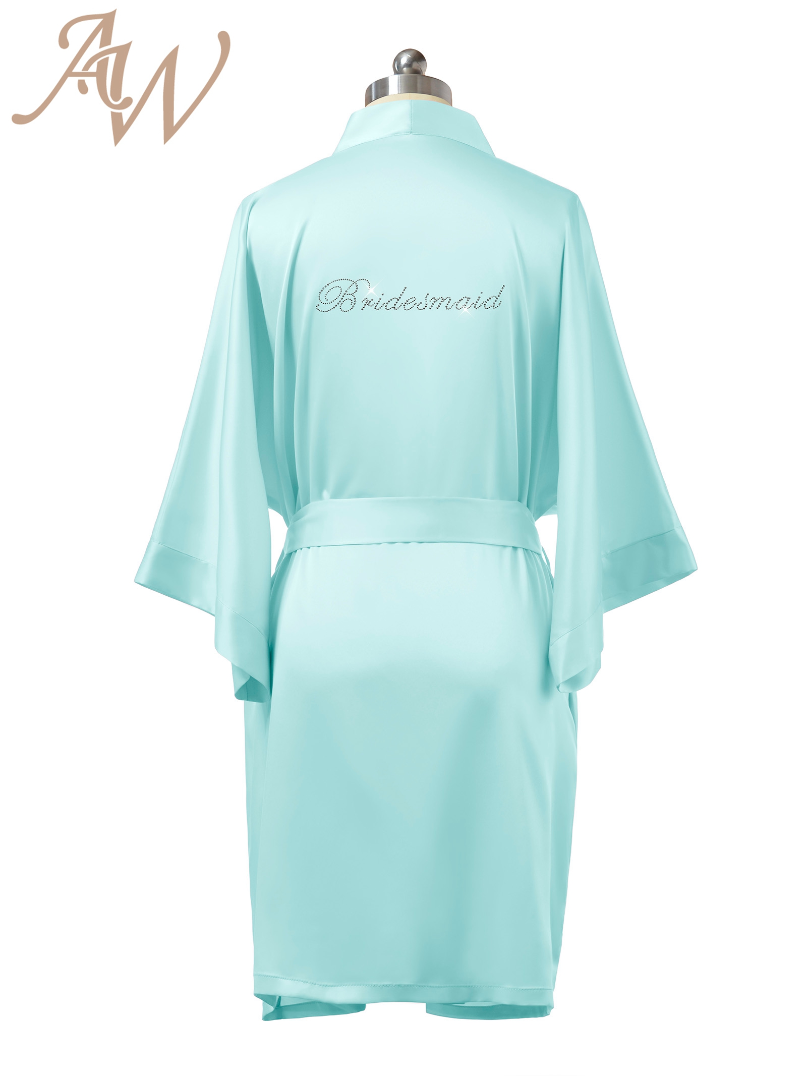 Gold Glitter Bridal Robe - Bride Bathrobe Satin Cover - Bridal Dressing Robe  - Gold Glitter Wedding - Bridal Lingerie Shower Gift