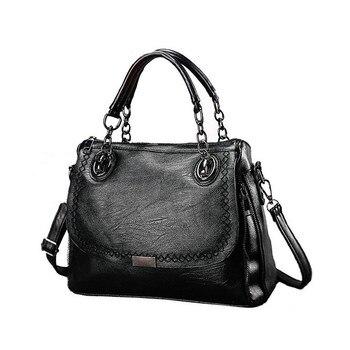 Ygdb Design Women Flap Shoulder Bag PU Leather Fashion Tote Handbag Casual Solid Ladies Messenger Crossbody Bags KL9022