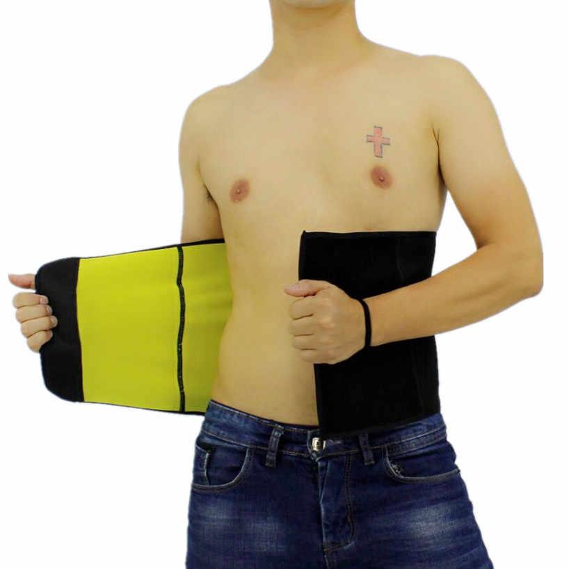CHENYE Шейперы для тела мужские компрессионные тонкие корректирующие пояса новости пояс неопрен шейпер для похудения Талия Триммер поглощает пот ремни