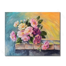 Laeacco Graffiti Rose Flower Nordic Style Painting in Canvas Prints and Posters Wall Art Living Room Bedroom Home Decor