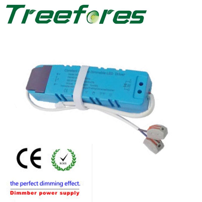 Затемнения симистор scr LED адаптер драйвер для 4 Вт dc9.9-10.3 В/300ma мини свет ce rohs изоляция Питание трансформатор