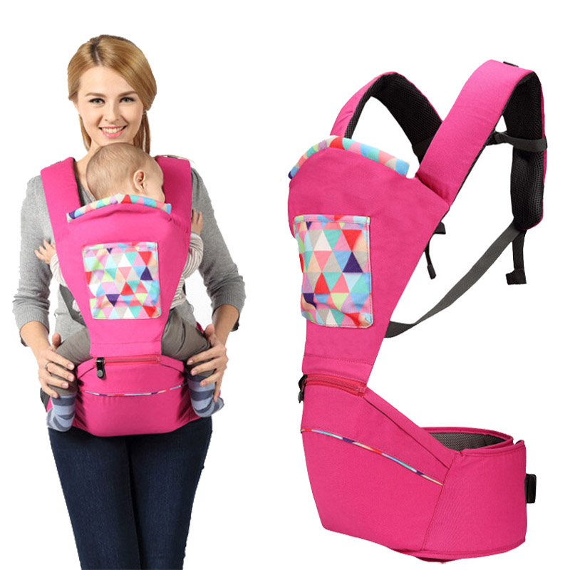 ФОТО Baby Cotton Carriers Multifunctional Toddler Sling Infant Suspenders Backpack Detachable Hipseat Belt Baby Holding Seat Carrier