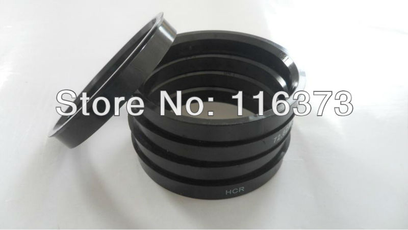 4pc Polycarbonate Hub Centering Spigot Rings ID 69 5 mm OD 72 62 mm